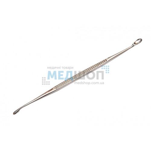 Купить Ложка хирургическая костная двусторонняя острая 27.3548 (Л-5) - широкий ассортимент в категории Ложки Скребки
