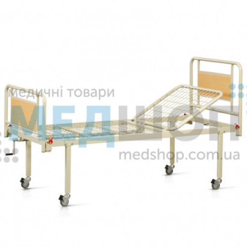 Купить Кровать функциональная двухсекционная на колесах OSD-93V+OSD-90V - широкий ассортимент в категории Медицинские кровати