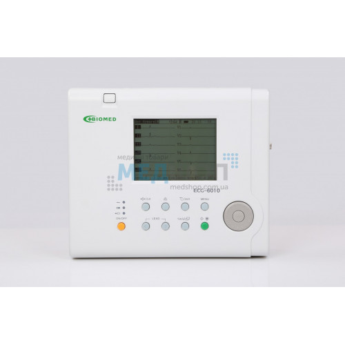 Электрокардиограф цифровой ECG-6010 — 6-канальный | Электрокардиографы