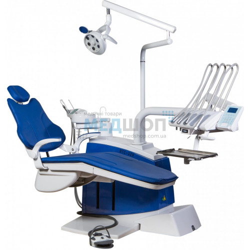 Стоматологическая установка DTC-329 с верхней подачей   Стоматологические установки