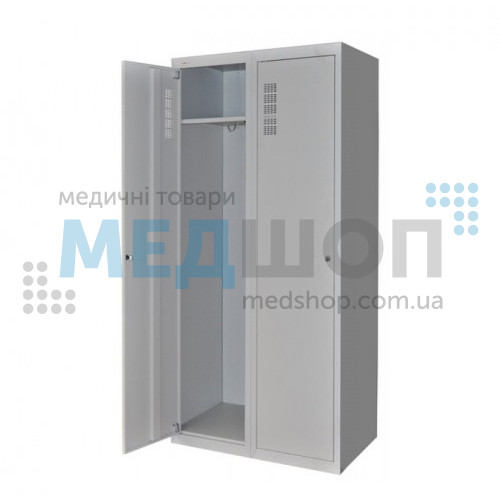 Шкаф для халатов медицинский двухстворчатый ШХМ-2 | Шкафы
