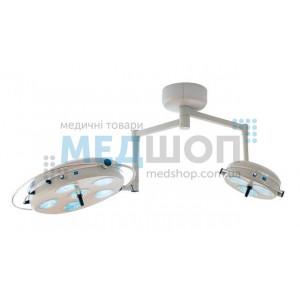 Светильник операционный (хирургический) L2000-6+3-II потолочный