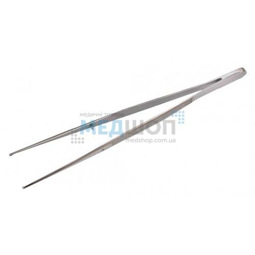 Купить Пинцет хирургический глазной прямой 15 см - широкий ассортимент в категории Пинцеты