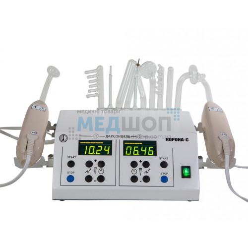 Аппарат для местной дарсонвализации Корона-С стационарный | Дарсонвализация и ультратональная терапия