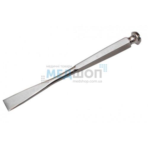 Купить Долото с шестигранной ручкой плоское с 2-х стор. заточкой, 20 мм - широкий ассортимент в категории Долота