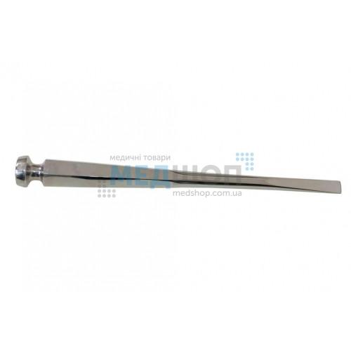 Купить Долото с шестигранной ручкой плоское с 2-х стор. заточкой, 10 мм - широкий ассортимент в категории Долота