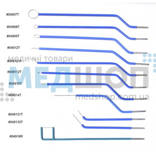 ЛОР электроды | Электрохирургические аппараты | Инструментарий