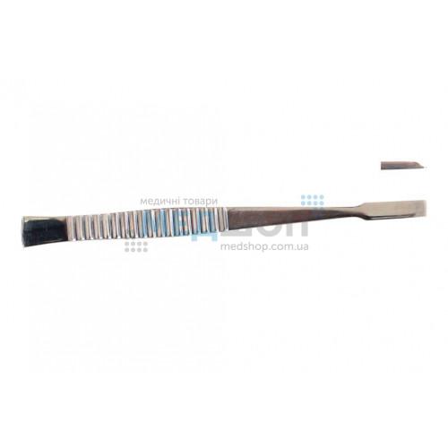 Купить Долото с рифленой ручкой, плоское, 6 мм - широкий ассортимент в категории Долота