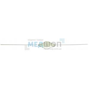 Зонд цилиндричный для слюнного канала, двухсторонний