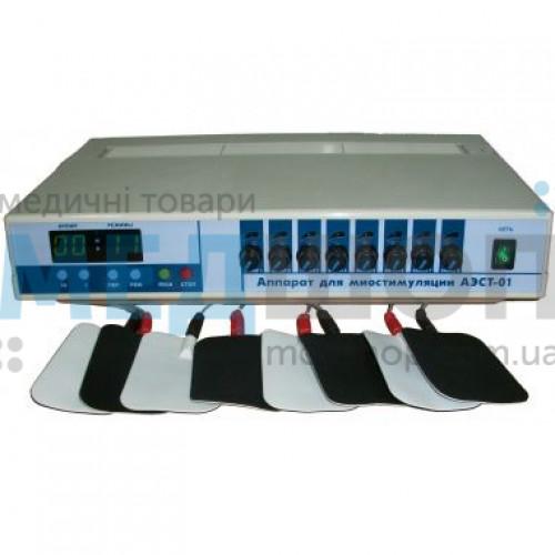 Аппарат для миостимуляции Мединтех АЭСТ-01 (8-канальный) | Электротерапия