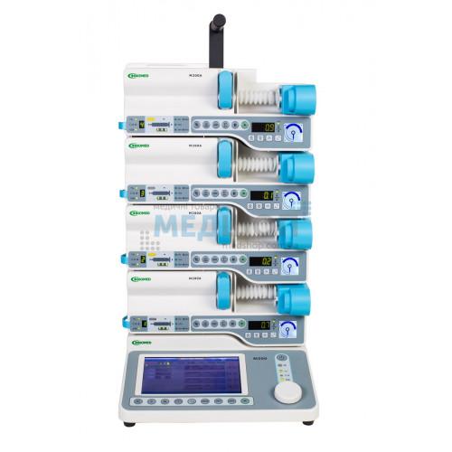 Станция инфузионная M200 | Дозаторы шприцевые