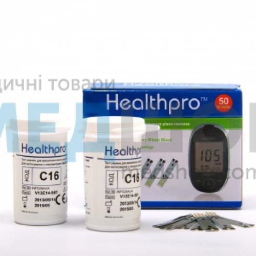 Тест полоски HealthPro (ХелсПро) - Глюкометры и расходные материалы