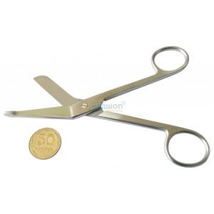 Ножницы для разрезания повязок с пуговкой 14 см