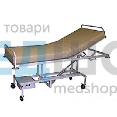 Купить Кровать функциональная двухсекционная с электроприводом КФ-2Э1 - широкий ассортимент в категории Медицинские кровати