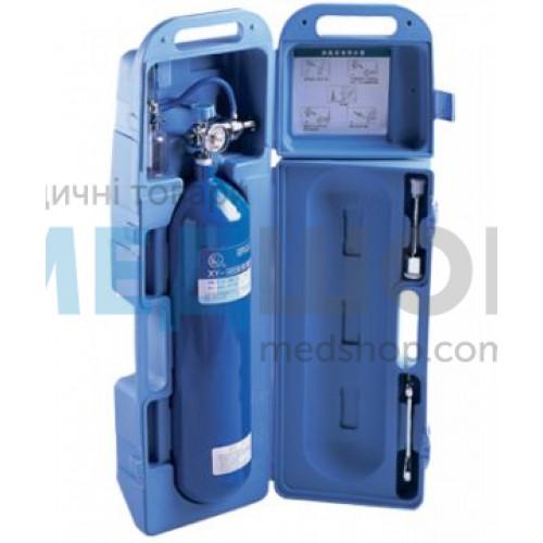 Баллон кислородный в пластиковом футляре 2 л - Кислородное оборудование