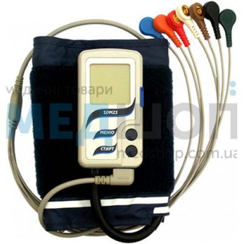 Монитор артериального давления и электрокардиосигналов суточный SDM23 (Холтер ЭКГ и АД) | Холтеровские системы