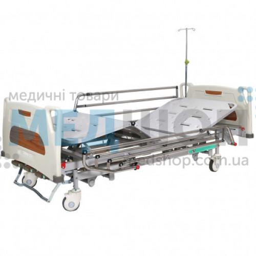 Купить Кровать медицинская механическая с регулировкой высоты, 4 секции OSD-9017 - широкий ассортимент в категории Медицинские кровати