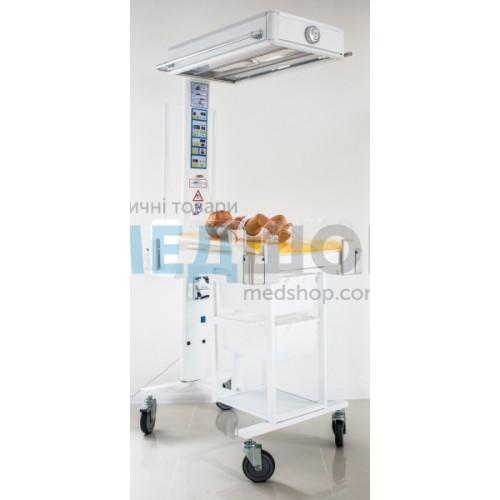 Устройство неонатальное для фототерапии и обогрева НО-АФ-КР1 | Открытые реанимационные системы