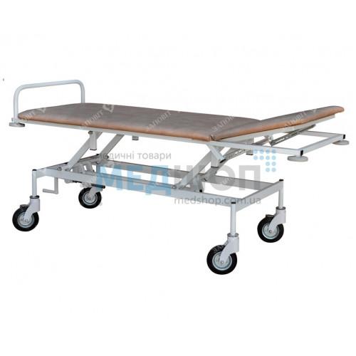 Тележка для транспортировки пациента с регулировкой высоты ТПБР | Тележки медицинские