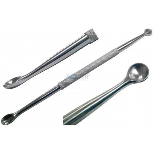 Ложка хирургическая костная двусторонняя острая - Медицинский инструмент