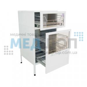 Шкаф медицинский с бактерицидными лампами ШМБ 15