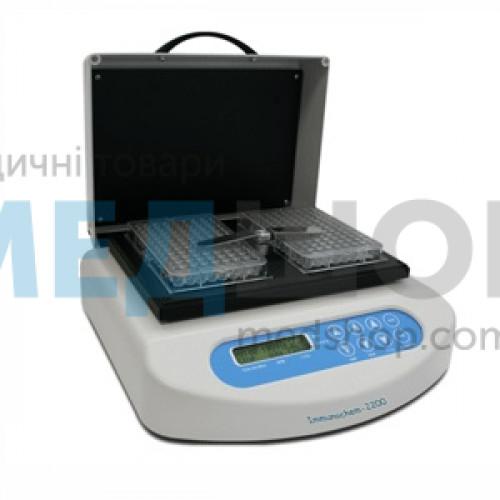 Термошейкер на 2 планшеты HTI Immunochem-2200-2 | Оборудование для иммуноферментного анализа