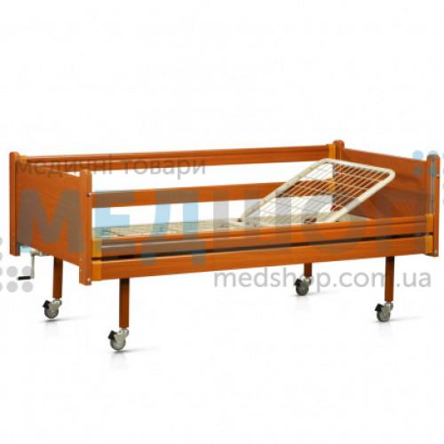 Купить Кровать деревянная функциональная двухсекционная OSD-93 - широкий ассортимент в категории Медицинские кровати