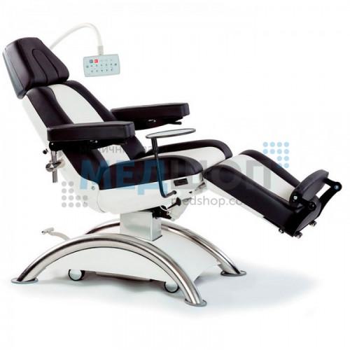 Кресло-кушетка для инфузионной терапии, диализа, химиотерапии и обследования Capre RC2 | Крісла медичні