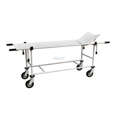 Тележка для перевозки больных со съемными носилками ТБС-150 | Тележки медицинские