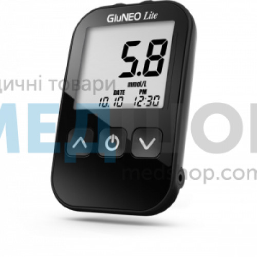 Глюкометр GluNeo Lite (ГлюНео Лайт) - Глюкометры и расходные материалы
