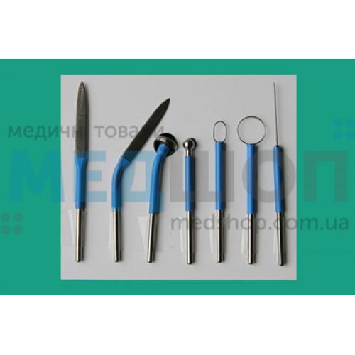 Монополярные сменные электроды для ВЧ-электрохирургии | Электрохирургические аппараты | Инструментарий