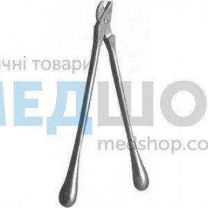 Ножницы для разрезания гипсовых повязок, длина 37 см