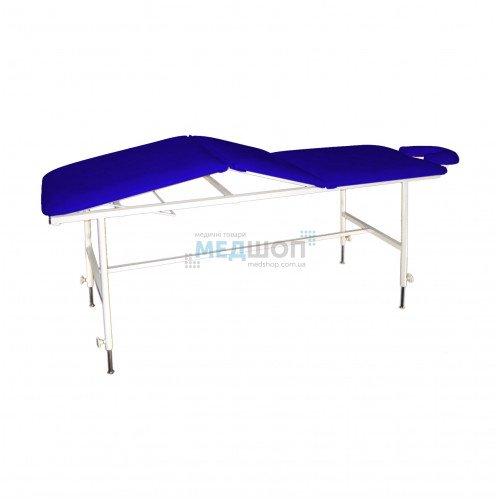 Стол массажный трехсекционный М-3 | Столы медицинские