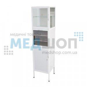 Шкаф медицинский с бактерицидными лампами ШМБ 15-1