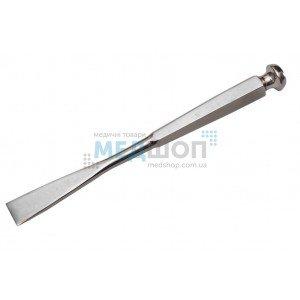 Долото с шестигранной ручкой плоское с 2-х стор. заточкой, 20 мм