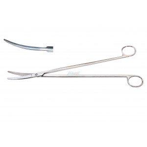 Ножницы для глубоких полостей изогнутые 28 см
