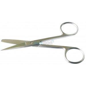 Ножницы с одним острым концом прямые, длина 11,5 см