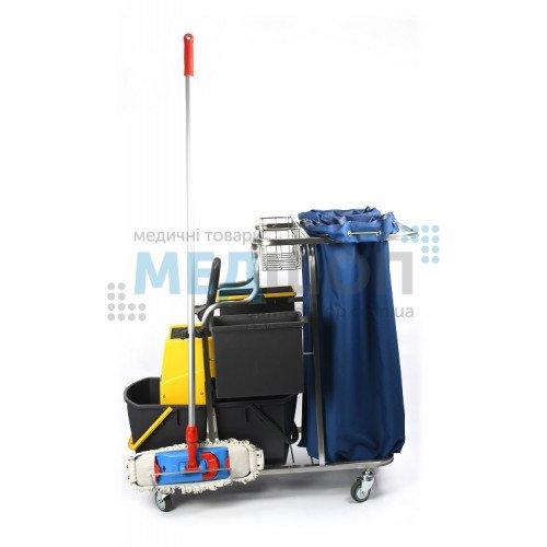 Профессиональная тележка для уборки TWC-4-NATA