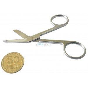 Ножницы для разрезания повязок с пуговкой 9 см