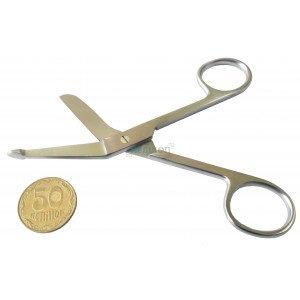 Ножницы для разрезания повязок с пуговкой 11 см