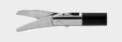 Изогнутые лапароскопические ножницы