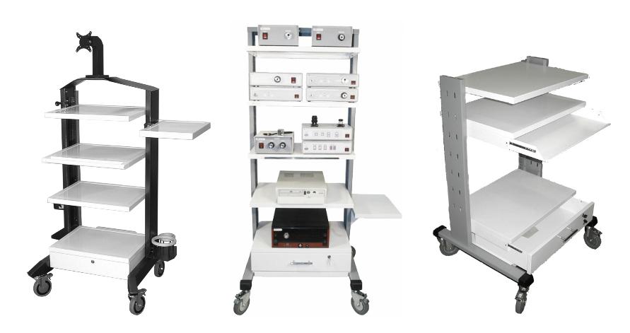 Эндоскопическая стойка, цена на которую зависит от назначения и модификации, представленав перечне продукциикомпании Медшоп.