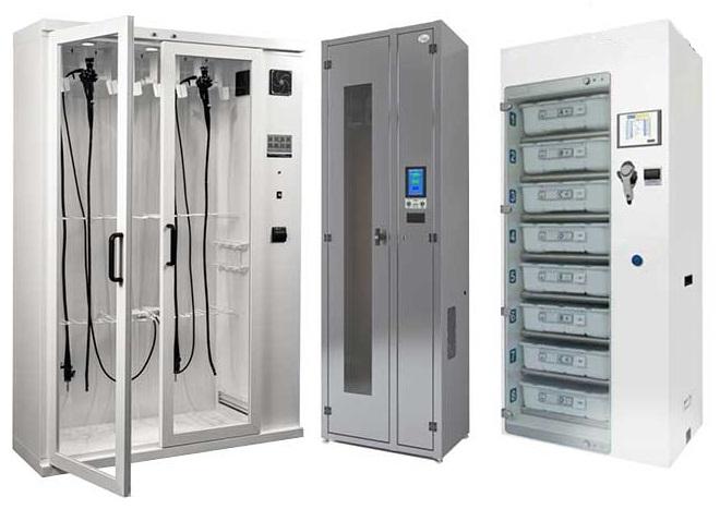 Шкафы для хранения и сушки гибких эндоскопов на сайте Медшоп