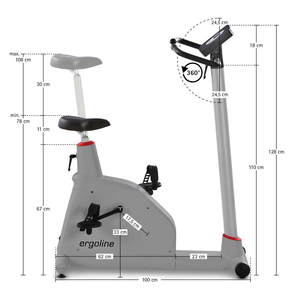 Тренажер-эргометр optibike basic