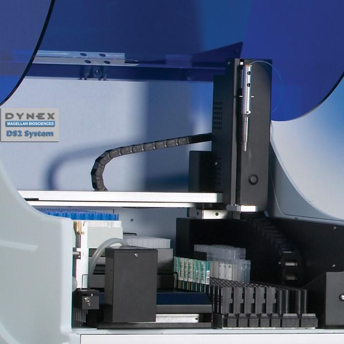 Автоматический иммуноферментный анализатор Лазурит Dynex DS2 купить в Украине | Оборудование для иммуноферментного анализа | MedShop