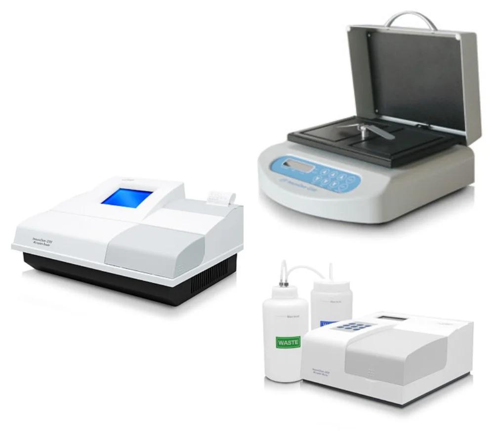ИФА анализатор Иммуноферментный анализатор комплекс HTI 2100 из 3 компонентов