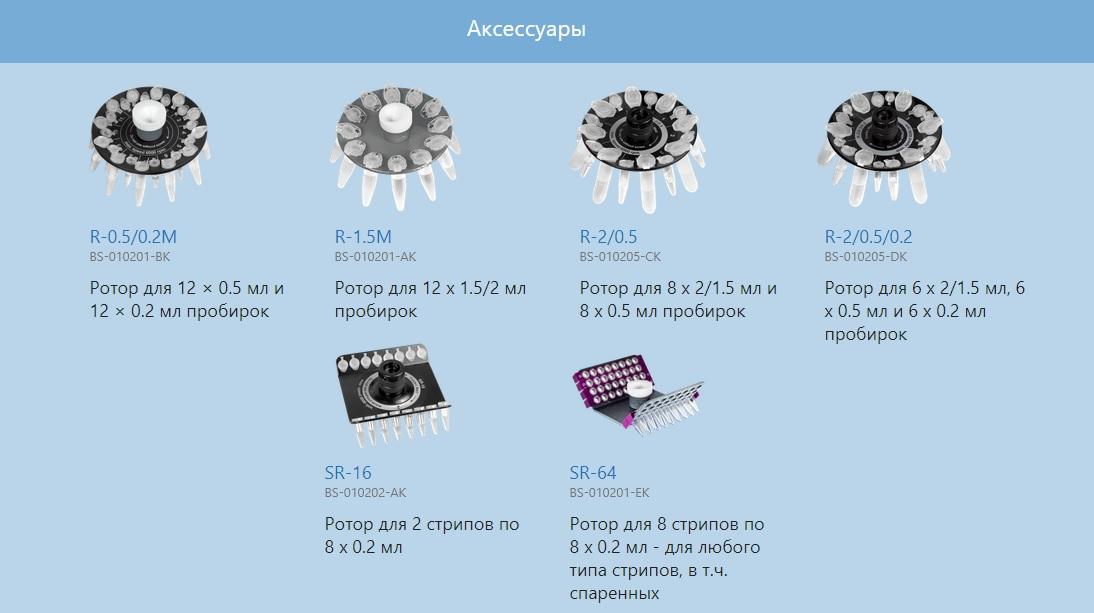 Мини‐центрифуга‐вортекс Микроспин Biosan FV-2400