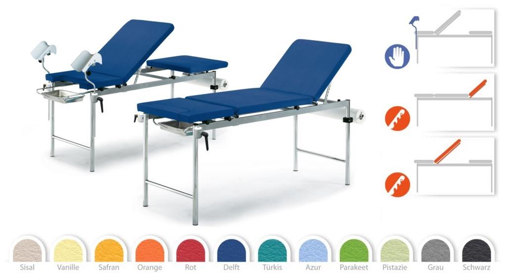 Гинекологическое кресло-кушетка Givas AV4030 купить в Украине | Кресла гинекологические | Медицинская мебель