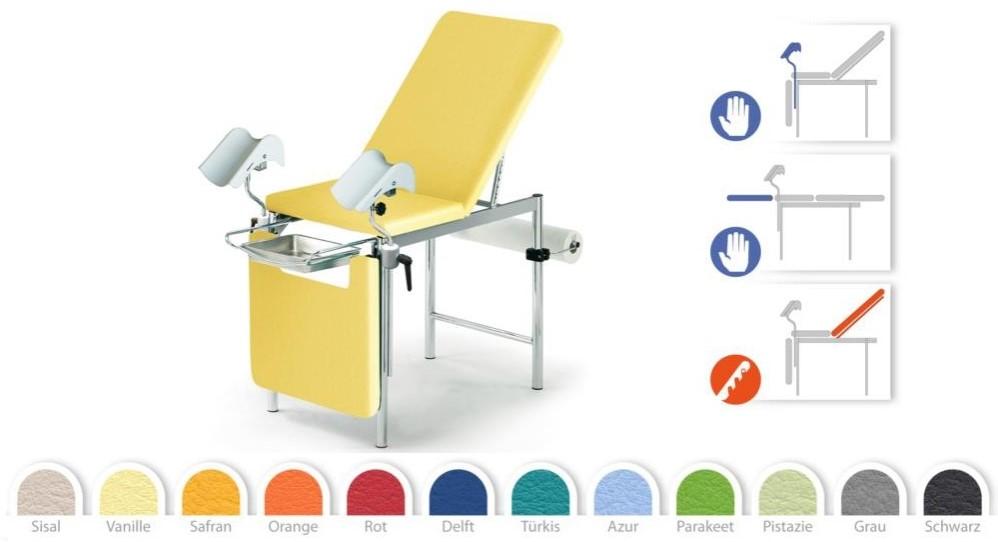 Гинекологическое кресло Givas AV4028 купить в Украине | Кресла гинекологические | Медицинская мебель