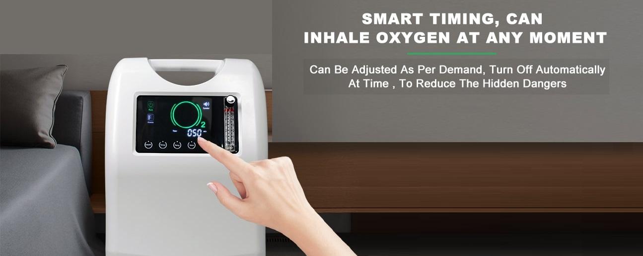 Кислородный концентратор Olive OLV-10 Dual Flow (Двойной поток) широкоприменяетсяв частных клиниках, государственных больницах и для домашнего использования